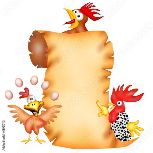 pergamena pollo