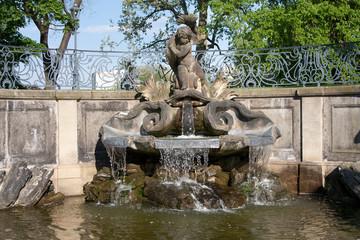 Dresden Springbrunnen