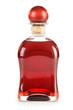 Bottle alcoholic product isolated on white