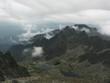 Widok z Baranich Rogów w Tatrach