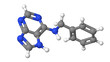 Plant hormone - Cytokinins - Benzyl adenine - BAP - model