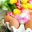 Frühstückseier im Eierbecher