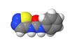 Plant hormone - Cytokinins - Thidiazuron - TDZ - spacefill model