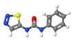 Plant hormone - Cytokinins - Thidiazuron - TDZ - molecular model