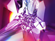 beautiful purple crystal fashion background