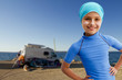 Summer vacation, Travel with camper, Family holidays