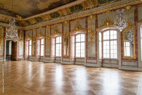 Leinwandbild Motiv Ball hall in a palace