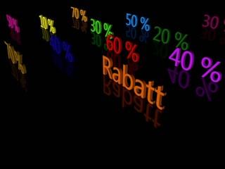 Rabatt Prozente