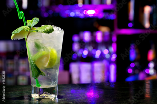 Fotobehang Cocktail Mojito cocktail