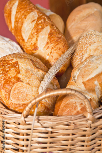 bread in basquet