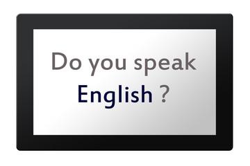¿Hablas inglés?