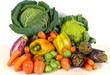 Composizione di ortaggi e verdure