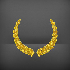 Laurel wreath, award