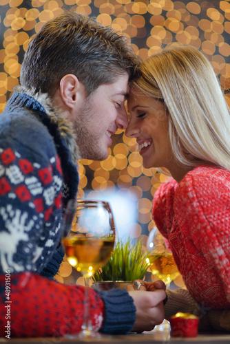 romantic evening date