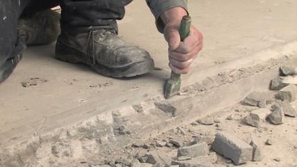 renovation hammering