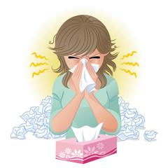 鼻をかむ 花粉症 風邪