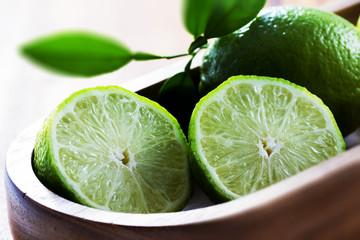 Limes, fruits