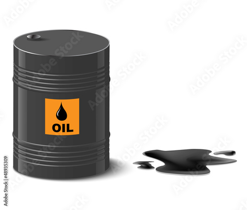 oil spill.
