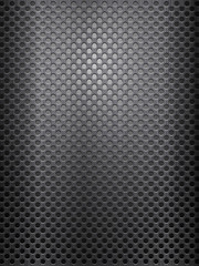 black metal grid vertical