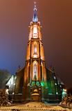 Fototapety Kościół wniebowzięcia Najświętszej Maryi Panny w Bielawie