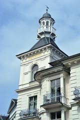 Usedom Architektur bei Promenade Ahlbeck