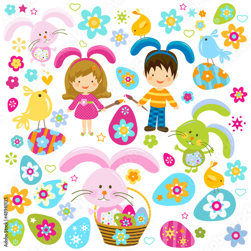 easter background for kids