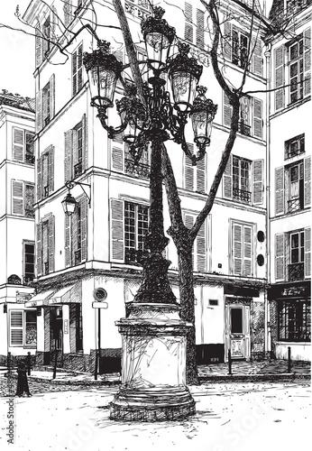 Furstemberg square in paris - 48940195