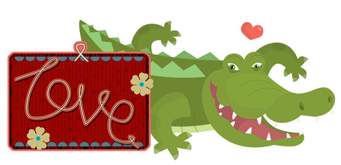 Happy valentines day and weeding cards - illustration