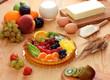 Torta di frutta fresca - Fresh fruit cake