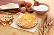 Torta di tagliatelle - Cake noodles