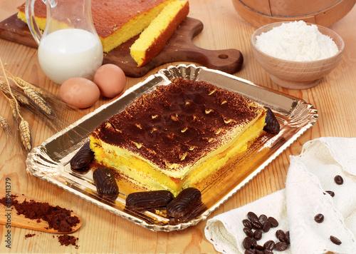 Tiramisù, dolce con mascarpone - Tiramisù cake