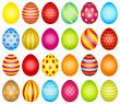 24 Easter Eggs