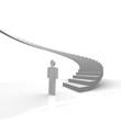treppe, aufstieg, treppenstufen, stufe, stufen, steil,