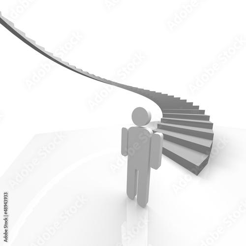 treppe, aufstieg, start, treppenstufen, stufe,