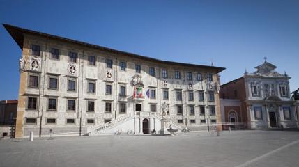 Pisa, piazza dei cavalieri e scuola normale