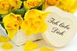 """Gelbe Rosen sagen """"Ich liebe Dich"""""""