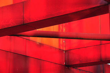 Red metal construction