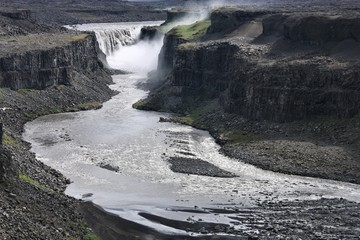 Waterfall in Iceland - Dettifoss