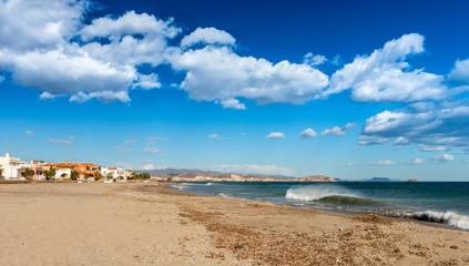 Pozo Del Esparto Beach, San Juan, Almeria, Spain