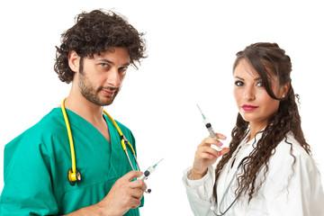 Evil doctors
