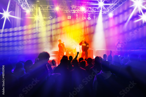 Concert et lumières