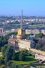 Torre Gregoriana o Torre della radio - Giardini Vaticani