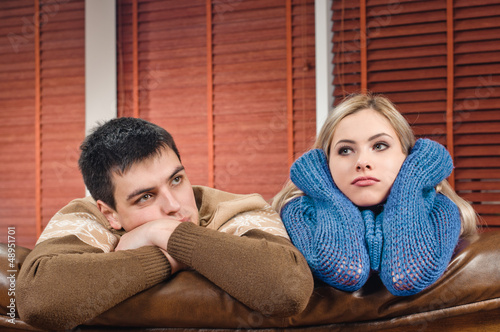 couple in sadness