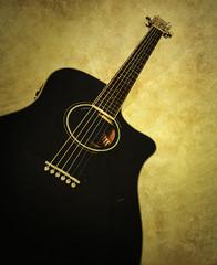 retro guitar