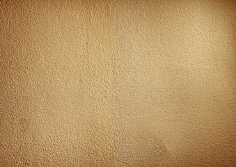 Yellow Vintage Wall Background Texture
