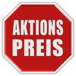 Stopschild rot AKTIONSPREIS