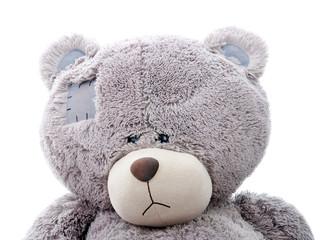 sad teddy bear. Close-up