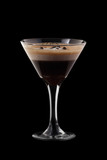 Espresso-Absinthe coctail poster