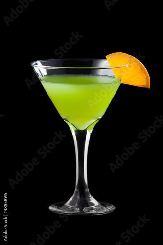 Fresh martini coctail