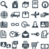 Icons for the web site or mobile app.